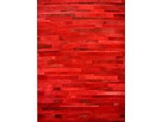 Rug Words Red
