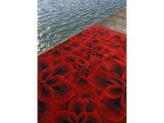 Tapete Flower red