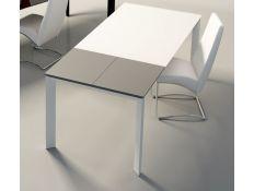 Mesa Sordna  II c/  vidro extra branco