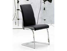 Cadeira Avid preta/ cinza