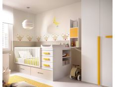 BABY ROOM 603 W / COT WITH CONVERTIBLE