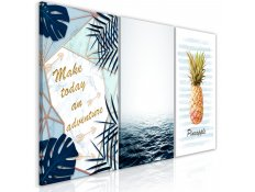Quadro - Pineapple Quote (3 Parts)