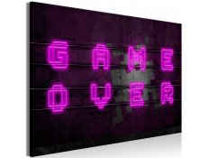 Quadro - Pink Neon (1 Part) Wide