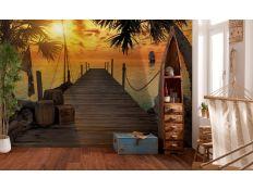 Ambiente Fotomural Treasure Island
