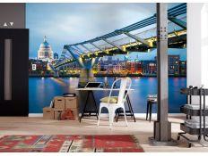 Ambient Photomural Millennium Bridge