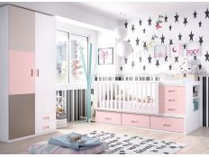 BABY ROOM C-47 W / COT WITH CONVERTIBLE