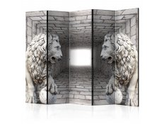 Biombo - Stone Lions II [Room Dividers]