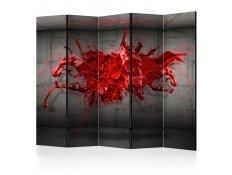 Biombo - Red Ink Blot II [Room Dividers]