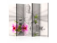 Biombo - Buddha and Orchids II [Room Dividers]
