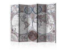 Biombo - Terraqueous Globe [Room Dividers]