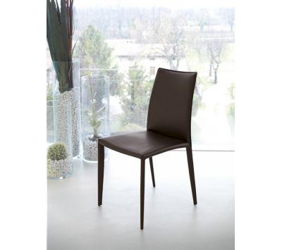 Cadeira Delfina SR em couro regenerado