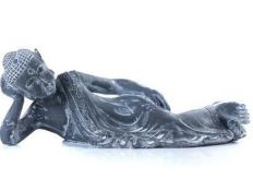 Decorative piece buddha lying on I