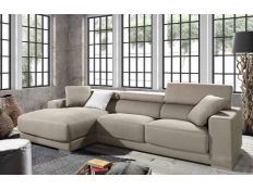 Sofa with chaise longe Singapore