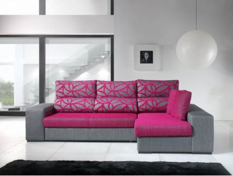 Sofá bed w/ chaiselong Evragla I