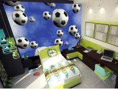 Photomural Foot balls 187