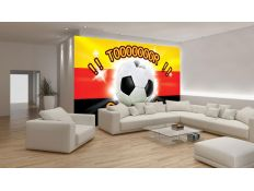 Photomural Football goal