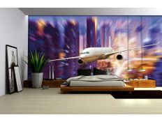 Photomural Airplane