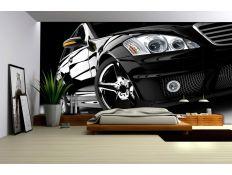 Photomural Black car