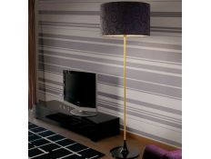 Floor Lamp Delta gloss gold