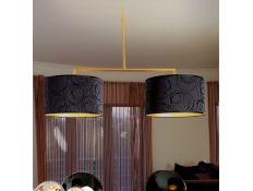 Candeeiro de teto Delta gloss gold 2