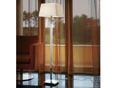 Floor lamp Prisma cromado