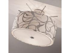 Suspension lamp Camber cromado