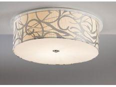Suspension lamp Disco Gloss branco