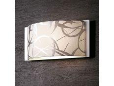 Candeeiro de parede Disco Gloss branco
