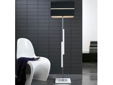 Floor lamp Zig Zag Gloss branco