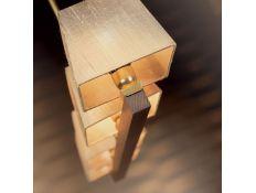 Candeeiro de teto Prisma Gold 4
