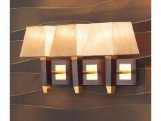 Candeeiro de parede Prisma Gold 3
