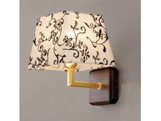 Wall lamp Trapezio Zen gold 1