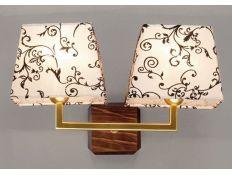 Wall lamp Trapezio Zen gold 2