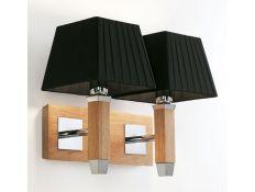 Wall lamp Prisma carvalho 2