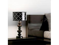 Candeeiro de mesa Rool gloss preto