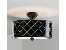 Suspension lamp Rool gloss black 3
