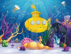 Fotomural Vida marinha