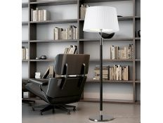Floor lamp Loop wengue