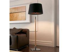 Floor lamp Loop oak