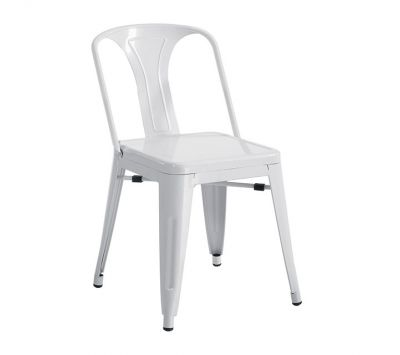 Cadeira Tolix branca