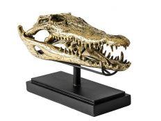 Peça decorativa Busto crocodilo II