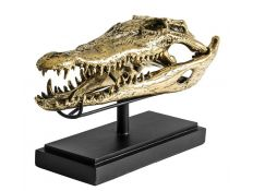 Peça decorativa Busto crocodilo III