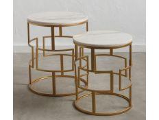 Set of side tables Karol
