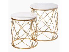 Set of side tables Karolyn