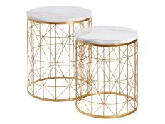 Set of side tables Kyung