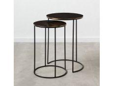 Conjunto de mesas de apoio Kloet