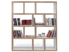 Bookseller pure white+orla plywood Nilreb I