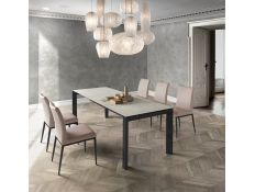 EXTENSIBLE DINING TABLE RINO