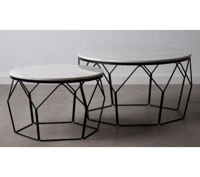 SET OF COFFEE TABLES AURELINA