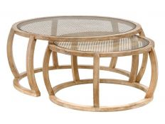 SET COFFEE TABLE GEMINIS